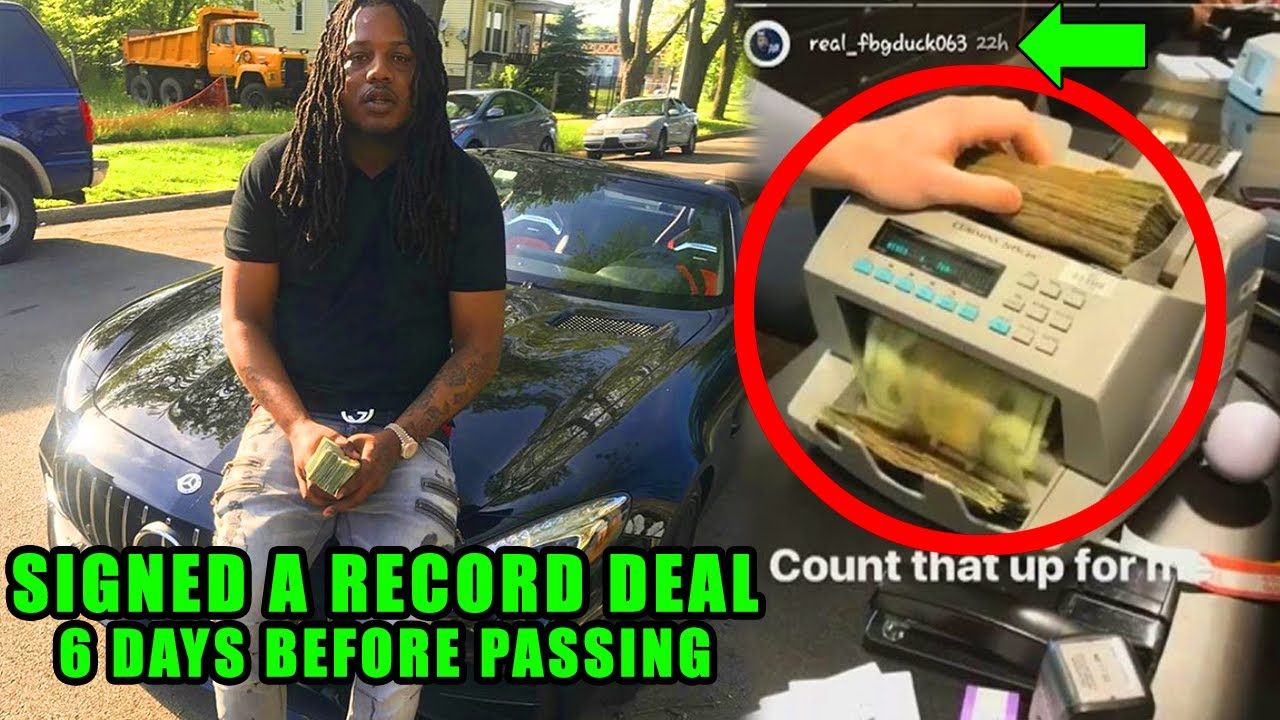 FGB Duck JUST Signed a MAJOR Record Deal *REAL REASON He PASSED*