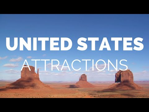 10 Top Tourist Attractions in the USA – Travel Video