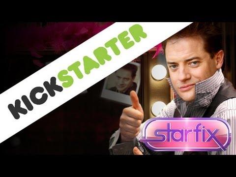 Brendan Fraser: 'I Would Like To Apply For One Kickstarter, Please'