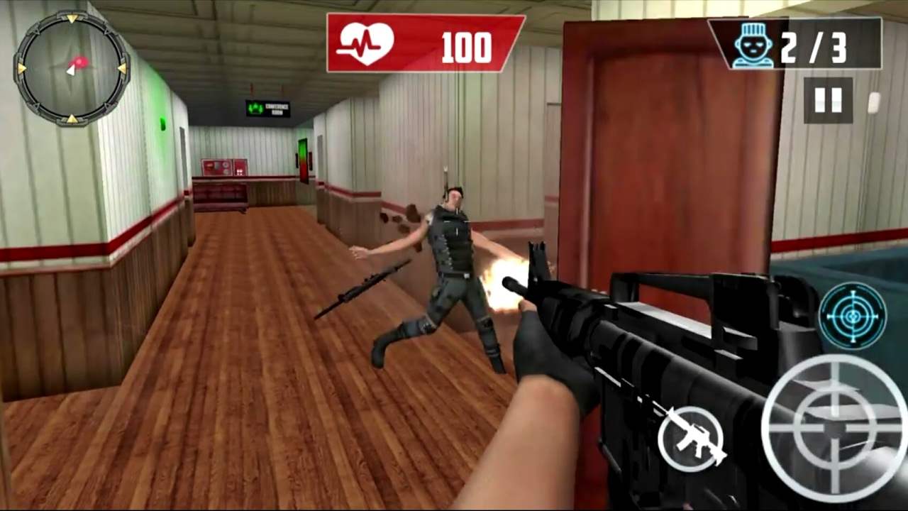 SWAT Anti Terrorist Squad - Android Gameplay (by Tribune Games Mobile  Studios)