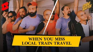 BYN Shots : When you miss local train travel #Shorts