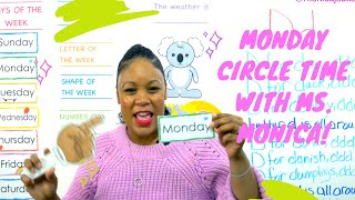 Monday 5/18/20 - Preschool Circle Time - Learn at Home