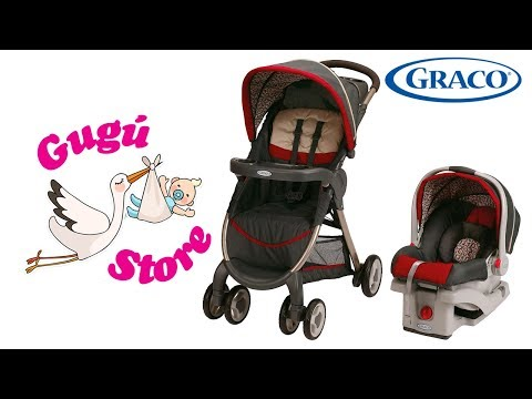 Graco Fastaction Fold Click Connect Travel System - Gugú Store