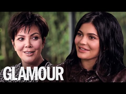 Kylie & Kris Jenner On Baby Kendall's Hilarious Hairdressing Skills  | GLAMOUR UK