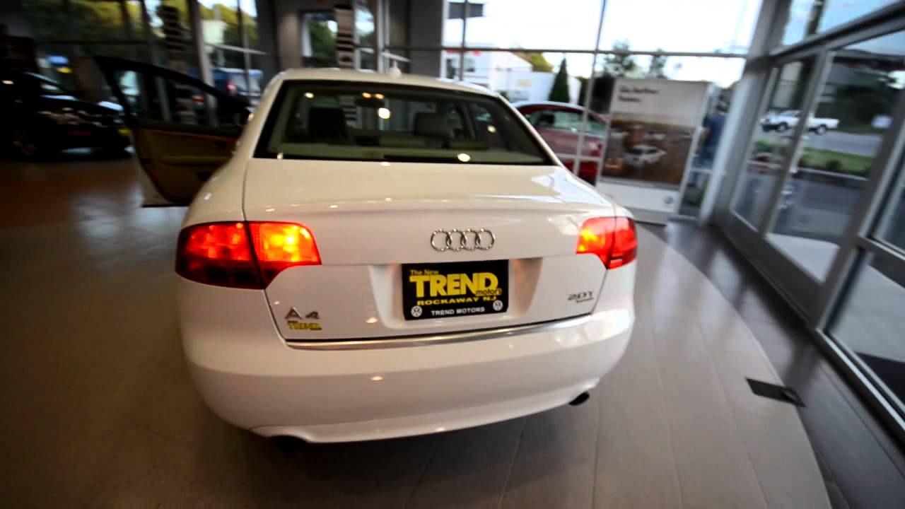 2008 Audi A4 2 0t Quattro Stk 17595b For Sale At Trend