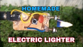 Electric lighter, very simple homemade electric chargeable lighter