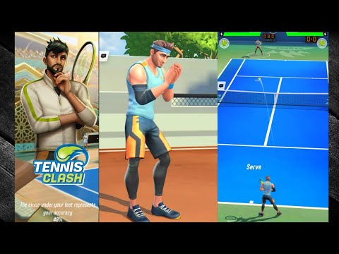 Tennis Clash Game | # gameplay video