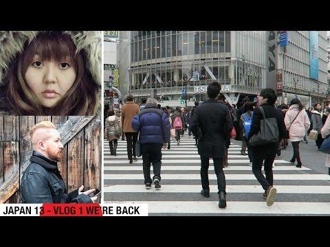 JAPAN 13 TRAVEL VLOG 1 - WE'RE BACK!