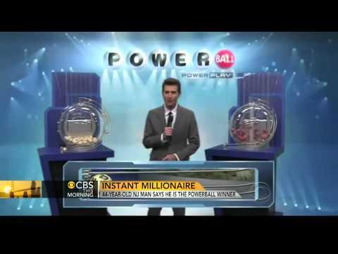 N.J. man claims to be $338M Powerball winner