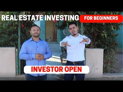 Real Estate Investing For Beginners   Investor Open