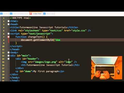 Javascript - Changing HTML Elements