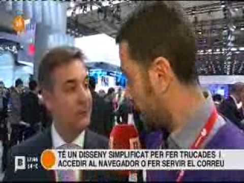 SimonSenior al Mobile World Congress 2014 (Doro Liberto 810)
