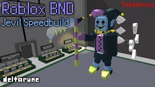 Roblox BND: Jevil Speedbuild