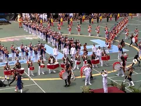 FULL Drumband PIP Semarang angkatan 52 di wisuda yang ke 84