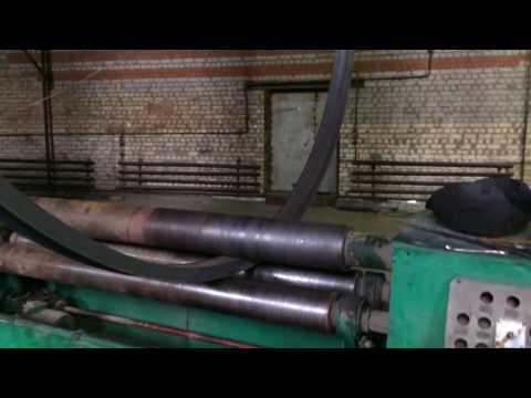 Вальцовка швеллера 12у в круг D2600мм