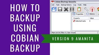 How to backup using Cobian Backup - Review