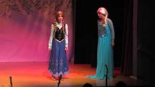 "Frozen -""For the First Time in Forever (reprise)"" Live! by Giselle Torres and Isabella Peña"