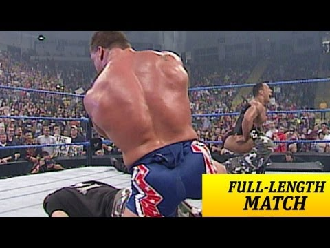 FULL-LENGTH MATCH - SmackDown - Dudley Boyz Vs. The Rock & Kurt Angle - World Tag Team Title Match