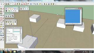 Google Sketchup - Sketchyphysics Basic Tutorial