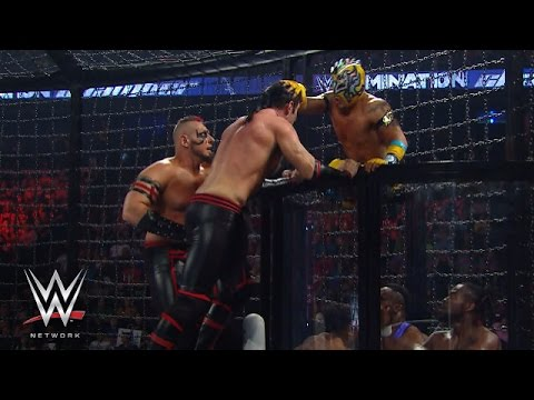 WWE Tag Team Championship Elimination Chamber Match: Elimination Chamber 2015, on WWE Network