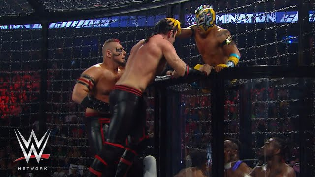 Download WWE Tag Team Championship Elimination Chamber Match: Elimination Chamber 2015, on WWE Network