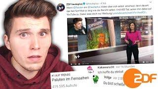 Beef mit dem ZDF & Zuschauern   REAKTIONEN auf mein Video