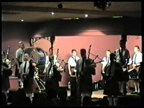 Field Marshal Montgomery Pipe Band - Ballymena Concert 2000