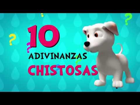 Adivinar Jugando con las 10 Adivinanzas Graciosas y Chistosas - Video para niños