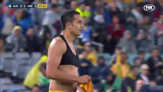 Australia 1 : 0 Greece Highlights & Goals | Mathew Leckie goal (94min)