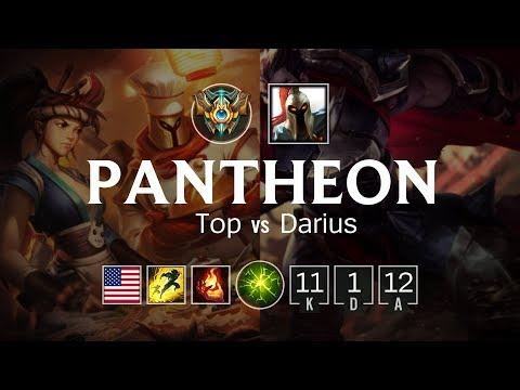 Pantheon Top vs Darius - NA Challenger Patch 8.6