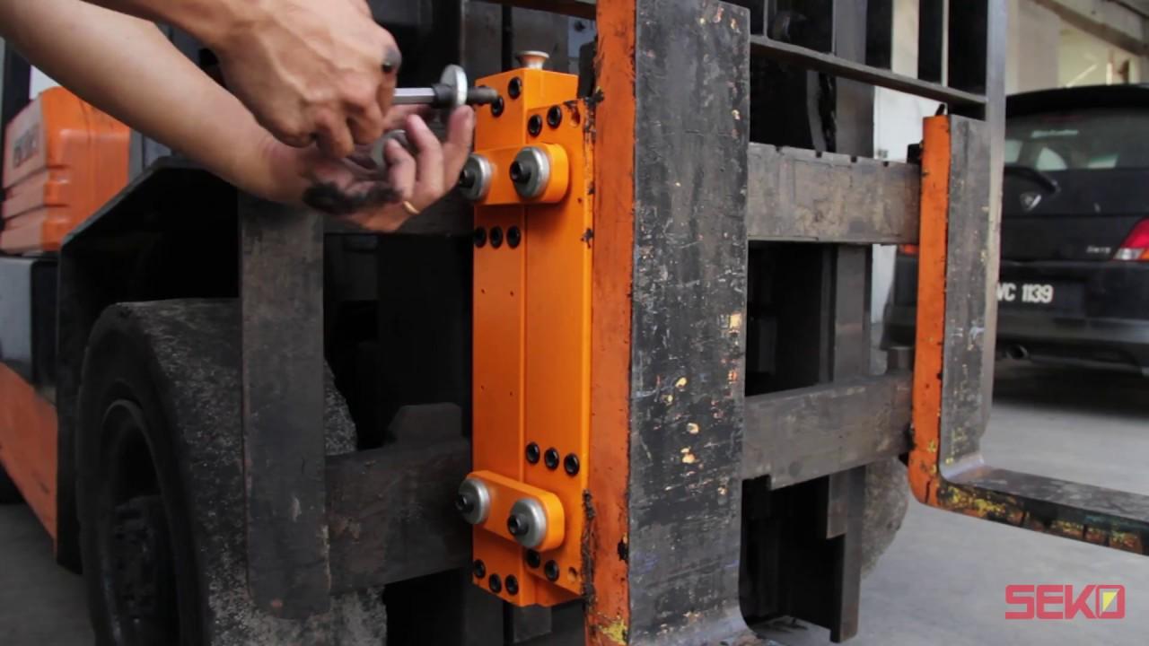 Seko Load Cell Forklift Scale 传感器型叉车秤 Youtube