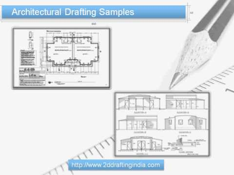 2D Drafting India Low Cost Structural Drafting Services And Samples