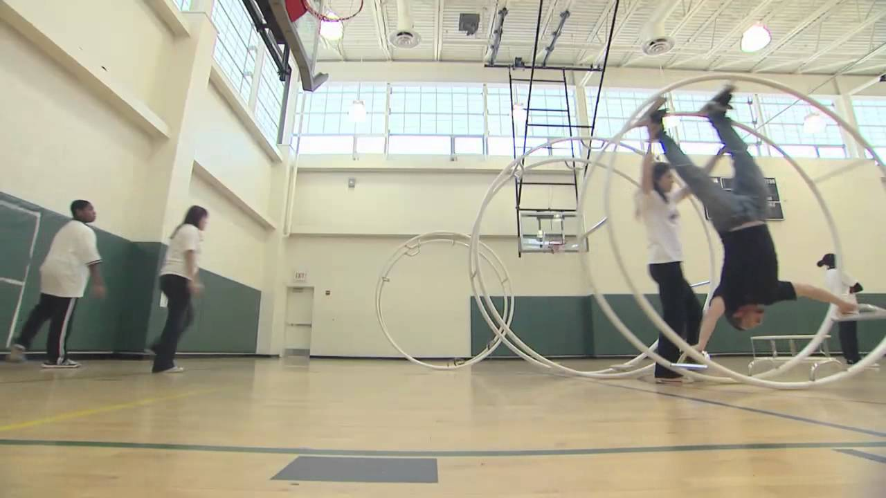 Chicago Park District May 13: Wheel Gymnastics - YouTube | title | shabbona park gymnastics