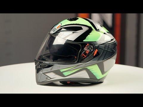 AGV K3 SV Liquefy Helmet Review at RevZilla.com