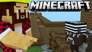 КОРОВЫ УСТРОИЛИ ПОБЕГ - Minecraft Skyway Island Survival 04
