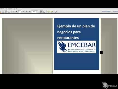 Plan de negocios para restaurante curso online youtube for Plan de negocios para un restaurante