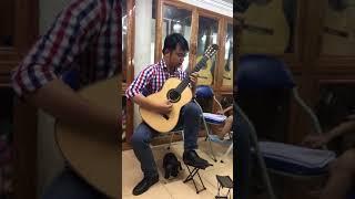 Tiếng đàn Ta lư - Huy Thục. Soạn guitar: Vũ Hiển