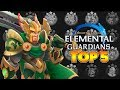 BEST 3 STAR EARTH CREATURES IN MIGHT AND MAGIC ELEMENTAL GUARDIANS