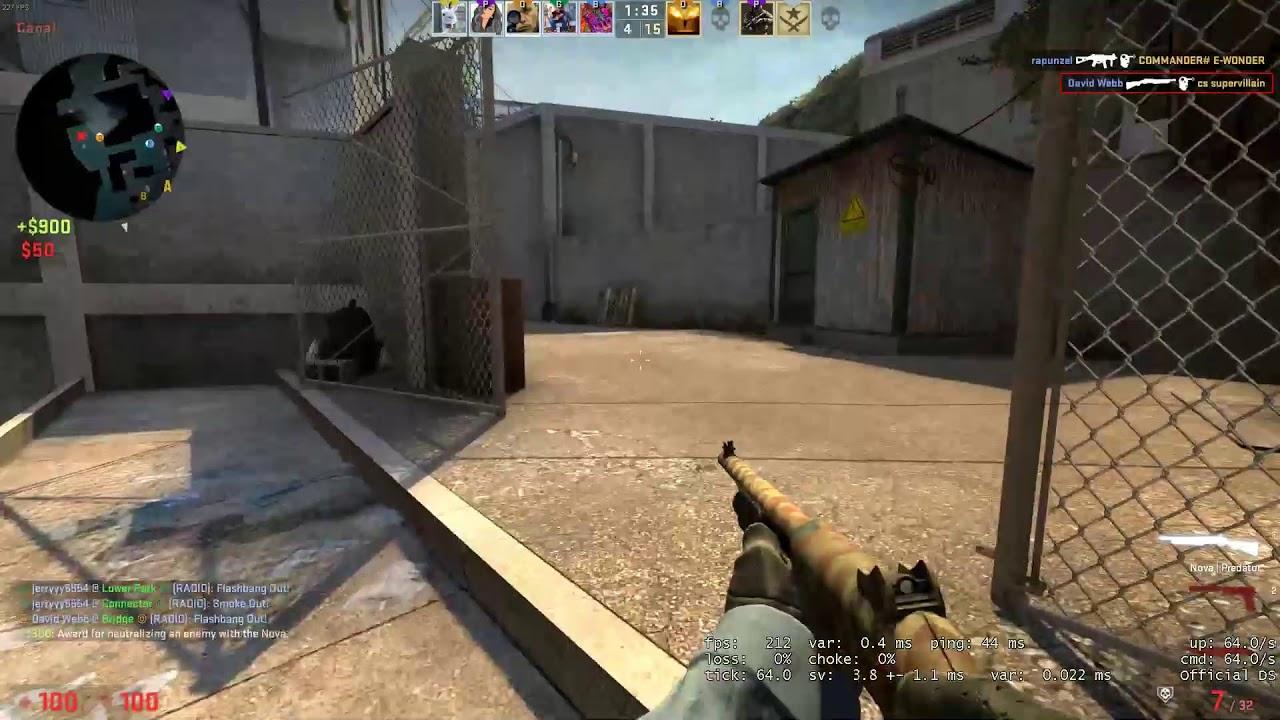 CS:GO Competitive Part 8 + Warmup