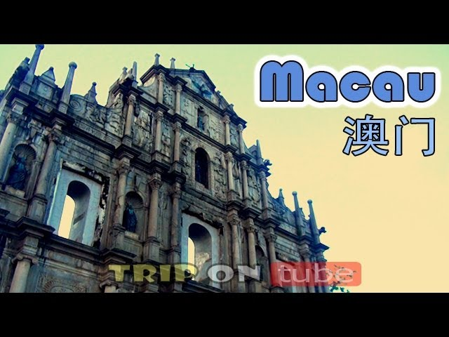 Trip on tube : Macau trip ( 澳门 ) Full Episode - Sightseeing tour [HD]