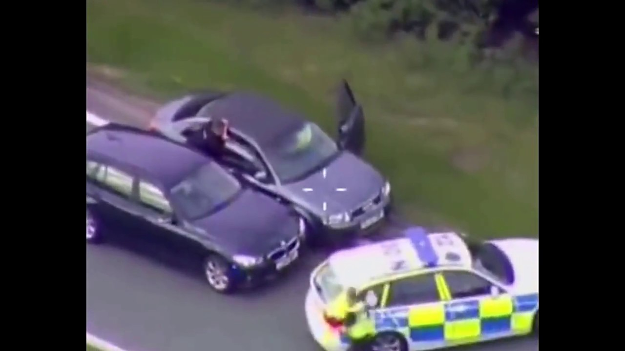 Police Chase In The Uk