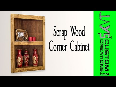 Pocket Hole Corner Cabinet - 175