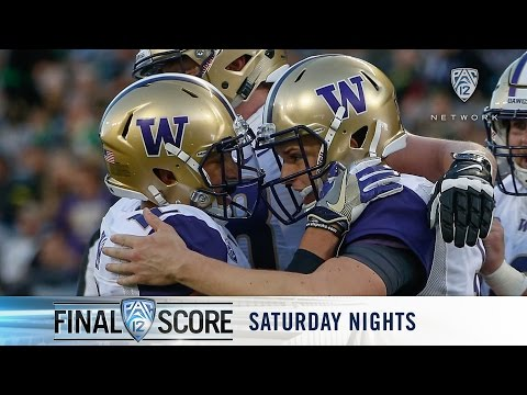 Highlights: Washington football puts up 70, snaps Oregon's 12-win streak against them