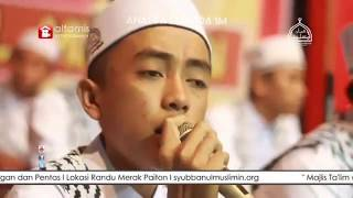 Hafidz Ahkam kecil menyanyikan Sholawat Shollu ala nurilladzi