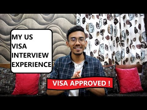 My US Visa Interview Experience !