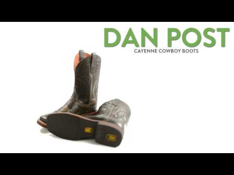 Dan Post Cayenne Cowboy Boots - Leather, Square Toe (For Men)
