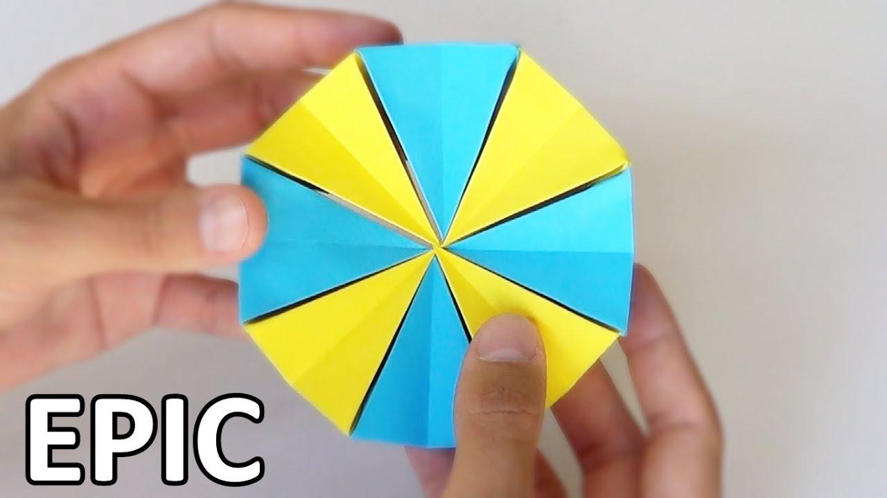 C mo hacer una estrella m gica de papel youtube - Origami de una estrella ...