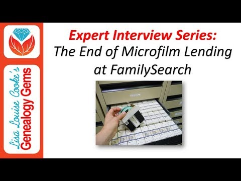 Special Episode: The End of FamilySearch Microfilm Lending P