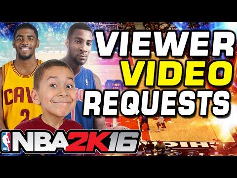 NBA 2K16 Viewer Video Request Challenge