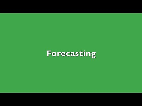 Introduction to Forecasting - with Examples